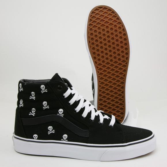e32189bff195 Vans Jolly Roger SK8 Hi Limited Unisex Skate Shoes